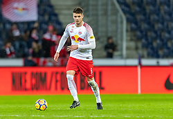 31.03.2018, Red Bull Arena, Salzburg, AUT, 1. FBL, FC Red Bull Salzburg vs RZ Pellets WAC, 28. Runde, im Bild Duje Caleta Car (FC Red Bull Salzburg) // during Austrian Football Bundesliga 28th round Match between FC Red Bull Salzburg and RZ Pellets WAC at the Red Bull Arena, Salzburg, Austria on 2018/03/31. EXPA Pictures © 2018, PhotoCredit: EXPA/ JFK