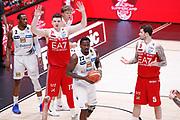 Gudaitis Arturas delusione, EA7 EMPORIO ARMANI OLIMPIA MILANO vs DOLOMITI ENERGIA TRENTINO, gara 1 Finale Play off Lega Basket Serie A 2017/2018, Mediolanum Forum, Assago (MI) 5 giugno 2018 - FOTO: Bertani/Ciamillo