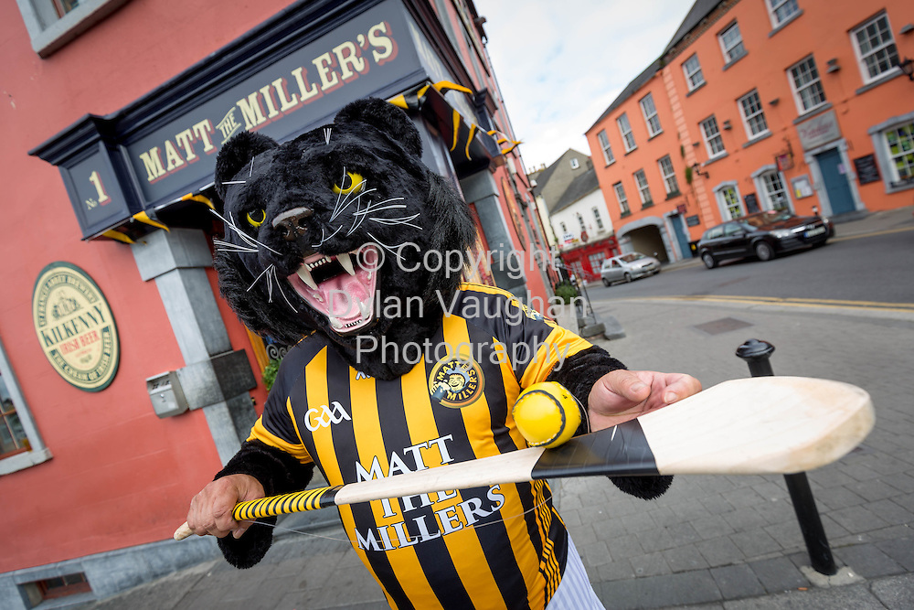 03-9-15<br /> <br /> Ray Brophy from Matt the Millers in Kilkenny pictured ahead of this weekends All Ireland Senior Hurling Final between Kilkenny and Galway.<br /> Picture Dylan Vaughan.