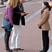 NLD/Amsterdam/20120217 - The Voice of Holland deelnemer Erwin Nyhoff en partner in Amsterdam