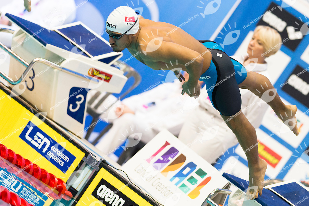 SENDIKICI Berkay TUR<br /> 200m Breaststroke Men Heats<br /> Netanya, Israel, Wingate Institute<br /> LEN European Short Course Swimming Championships Dec. 2 - 6, 2015 Day01 Dec.02<br /> Nuoto Campionati Europei di nuoto in vasca corta<br /> Photo Giorgio Scala/Deepbluemedia/Insidefoto