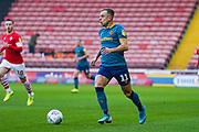 Hull City midfielder Kamil Grosicki (11) in action during the EFL Sky Bet Championship match between Barnsley and Hull City at Oakwell, Barnsley, England on 30 November 2019.