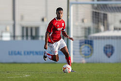 Kodi Lyons-Foster (capt) of Bristol City U23 - Rogan Thomson/JMP - 31/10/2016 - FOOTBALL - SGS Wise Campus - Bristol, England - Bristol City U23 v Millwall U23 - U23 Professional Development League 2 (South Division).