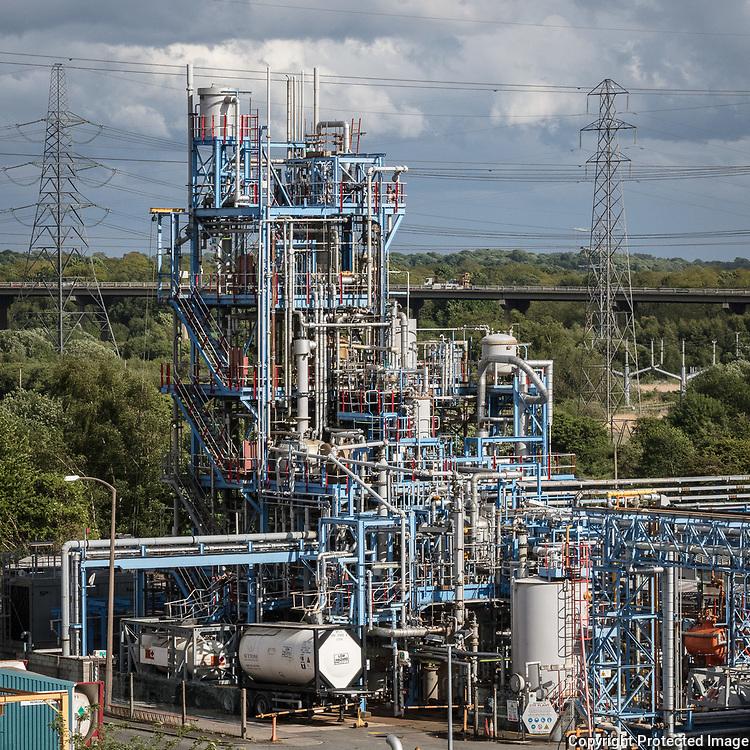 Weston Point Chemical Works II, Runcorn. Cheshire.