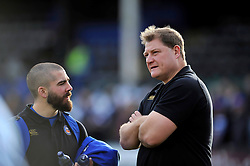 Bath Rugby first team coach Neal Hatley - Mandatory byline: Patrick Khachfe/JMP - 07966 386802 - 23/01/2016 - RUGBY UNION - The Recreation Ground - Bath, England - Bath Rugby v RC Toulon - European Rugby Champions Cup.