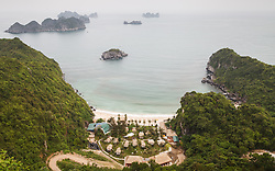© Licensed to London News Pictures. 08/03/2014. Cat Ba Island, Vietnam. FILE PHOTO taken 21/04/2013 : A general view of the coast looking East towards the South China Sea off Cat Ba Island in Northern Vietnam. A Malaysian airlines flight MH370 went missing with 239 passengers on board somewhere in the South China Sea. Photo credit : Rob Arnold/LNP