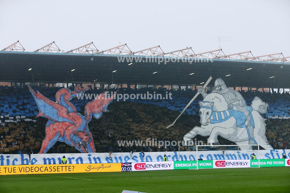 """Foto Filippo Rubin<br /> 03/03/2018 Ferrara (Italia)<br /> Sport Calcio<br /> Spal - Bologna - Campionato di calcio Serie A 2017/2018 - Stadio """"Paolo Mazza""""<br /> Nella foto: I TIFOSI DELLA SPAL<br /> <br /> Photo by Filippo Rubin<br /> March 03, 2018 Ferrara (Italy)<br /> Sport Soccer<br /> Spal vs Bologna - Italian Football Championship League A 2017/2018 - """"Paolo Mazza"""" Stadium <br /> In the pic: SPAL SUPPORTERS"""