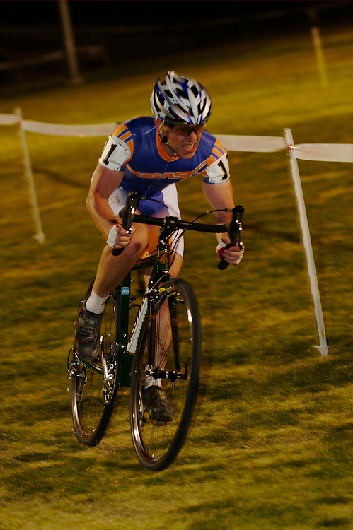 Crossvegas cyclocross race. Desert Breeze Football Field, Las Vegas. 23.0.09