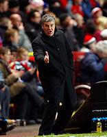 Football<br /> Coca-Cola Div 1<br /> Charlton Athletic Vs Hartlepool United at The Valley<br /> Chris Turner Manager of Hartlepool United<br /> 19/01/2010. Credit: Colorsport / Kieran Galvin