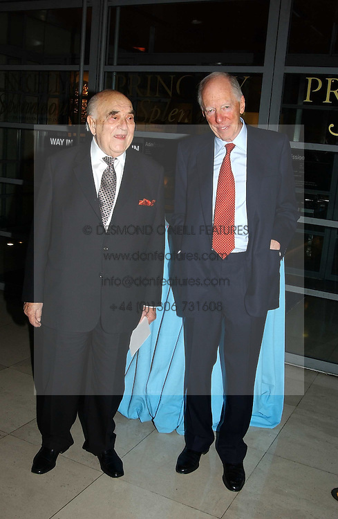 Left to right, LORD WEIDENFELD and LORD ROTHSCHILD at the opening of 'Princely Splendour; The Dresden Court 1580-1620' a new temporary exhibition at The Gilbert Collection, Somerset House, London sposored by Hubert Bruda Media, The Schroder Family and WestLB AG on 8th June 2005.<br /><br />NON EXCLUSIVE - WORLD RIGHTS