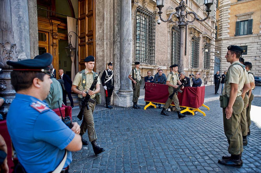 Roma 2 Ottobre 2013<br /> Cambio della Guardia al Senato<br /> Changing of the Guard in the Senate