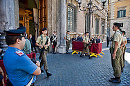 Roma 2 Ottobre 2013<br /> Cambio della Guardia al Senato<br /> Changing of the Guard in the Senate