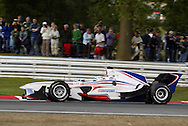 Robbie Kerr of Team Great Britain during the inaugural A1GP race held at Brands Hatch Motor Racing Circuit, Kent, England..