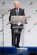 2013/05/09 Roma, assemblea annuale di Rele Imprese Italia. Nella foto Carlo Sangalli..Rome, Rete Imprese Italia annual meeting. In the pictureCarlo Sangalli  - © PIERPAOLO SCAVUZZO
