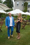 SIR JONATHAN IVE; LADY ALEXANDRA GORDON-LENNOX, Goodwood Festival of Speed Cartier lunch. 27 June 2015