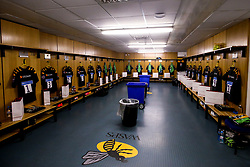 A general view of Wasps dressing room - Mandatory by-line: Robbie Stephenson/JMP - 12/10/2019 - RUGBY - Ricoh Arena - Coventry, England - Wasps v Worcester Warriors - Premiership Rugby Cup