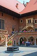 Collegium Maius Uniwersytetu Jagiellońskiego, najstarszy budynek uniwersytecki w Polsce.<br /> Collegium Maius Jagiellonian University, the oldest university building in Poland.