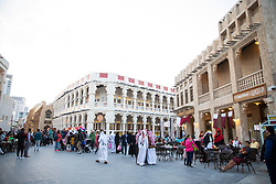 DOHA, QATAR - Thursday, December 19, 2019: Souq Waqif during the FIFA Club World Cup Qatar 2019 tournament. (Pic by David Rawcliffe/Propaganda)