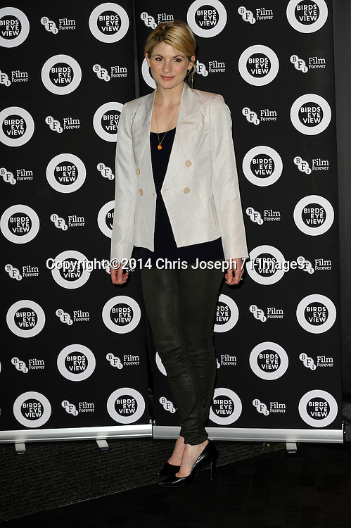 """Jodie Whitaker attends the Gala Screening of """"Birds Eye View"""" at BFI, Southbank,  London, United Kingdom. Tuesday, 8th April 2014. Picture by Chris Joseph / i-Images"""