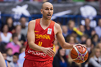 Spain Albert Oliver during FIBA European Qualifiers to World Cup 2019 between Spain and Slovenia at Coliseum Burgos in Madrid, Spain. November 26, 2017. (ALTERPHOTOS/Borja B.Hojas)
