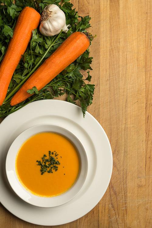 Carrott ginger Soup