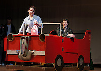 "Dress rehearsal for ""Grease"" at Winnisquam Regional High School.  Karen Bobotas/for the Laconia Daily Sun"
