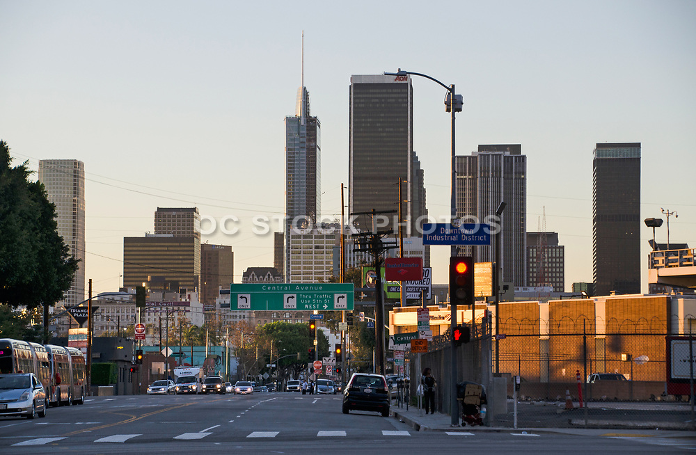 Downtown Industrial District Los Angeles