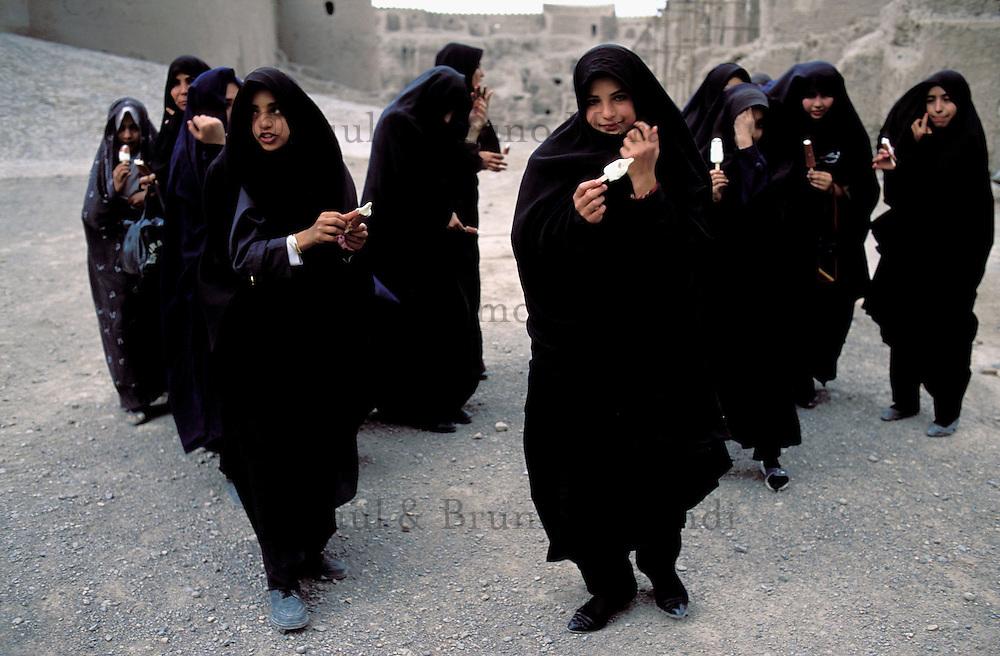 Group of school girl - Arg e Bam - Iran
