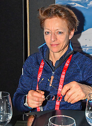05.02.2019, Aare, SWE, FIS Weltmeisterschaften Ski Alpin, TirolBerg, Roundtablegespraech zum Thema the Comeback of the major sport events in europe, im Bild Sarah Lewis (Secretary General FIS) // during a round table talk about the comeback of the major sports events in europe at TirolBerg for the FIS Ski Alpine World Championships 2019 in Aare, Sweden on 2019/02/05. EXPA Pictures © 2019, PhotoCredit: EXPA/ Erich Spiess