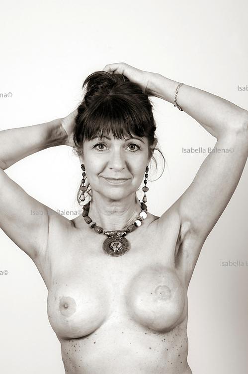 """Silvana, portrait from a book """"A seno nudo"""" by Cristina Garusi"""