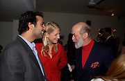 Aatish Taseer, Lady Ella Windsor and Prince Michael of Kent.  Blood Wedding Post - performance party. Count Christophe Gollut's annual fundraising Gala for the Almeida. Islington. London. 17 May 2005. ONE TIME USE ONLY - DO NOT ARCHIVE  © Copyright Photograph by Dafydd Jones 66 Stockwell Park Rd. London SW9 0DA Tel 020 7733 0108 www.dafjones.com