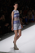 Pastel blue dress by Richard Chai at the Spring 2013 Mercedes Benz Fashion Week show in New York.