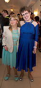 Maeve Moran, and Ciana Walsh from Claregalway at the Ability West Best Buddy Ball and award night at the Menlo Park Hotel Galway. Photo:Andrew Downes.