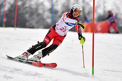 LATIMER Erin LW6/8-2 CAN competing in the ParaSkiAlpin, Para Alpine Skiing, Slalom at the PyeongChang2018 Winter Paralympic Games, South Korea.