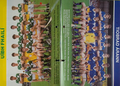 All Ireland Senior Hurling Championship Final, .06.09.1987, 09.06.1987, 6th September 1987, .Kilkenny v Galway, .Galway 1-12, Kilkenny 0-9,.06091987AISHCF, .Senior Kilkenny v Galway,.Minor Tipperary v Offaly,..Tipperary Minor, back row, Colin Egan, Michael Ryan, Noel Keane, MIchael O'Meara captain, Brendan Corcoran, Michael Perdue, Conal Bonnar, Front row left to right, Brendan Hogan, Justin Quinlan, Brendan Ryan, Pat Kearns, John Leahy, Liam Sheedy, Seamus Bohan, Don Lyons, ...Offaly, back row left to right, John Troy, Billy Dooley, Declan Pilkington, Brian Whelehan, Brian Hennessy, Timmy Dooley, Damian Geoghegan, Joe Errity, Front row, Adrian Cahill, John Pilkington, John Troy, Thomas Moylan, Kieran Egan, Pat Guinan, Johnny Dooley,