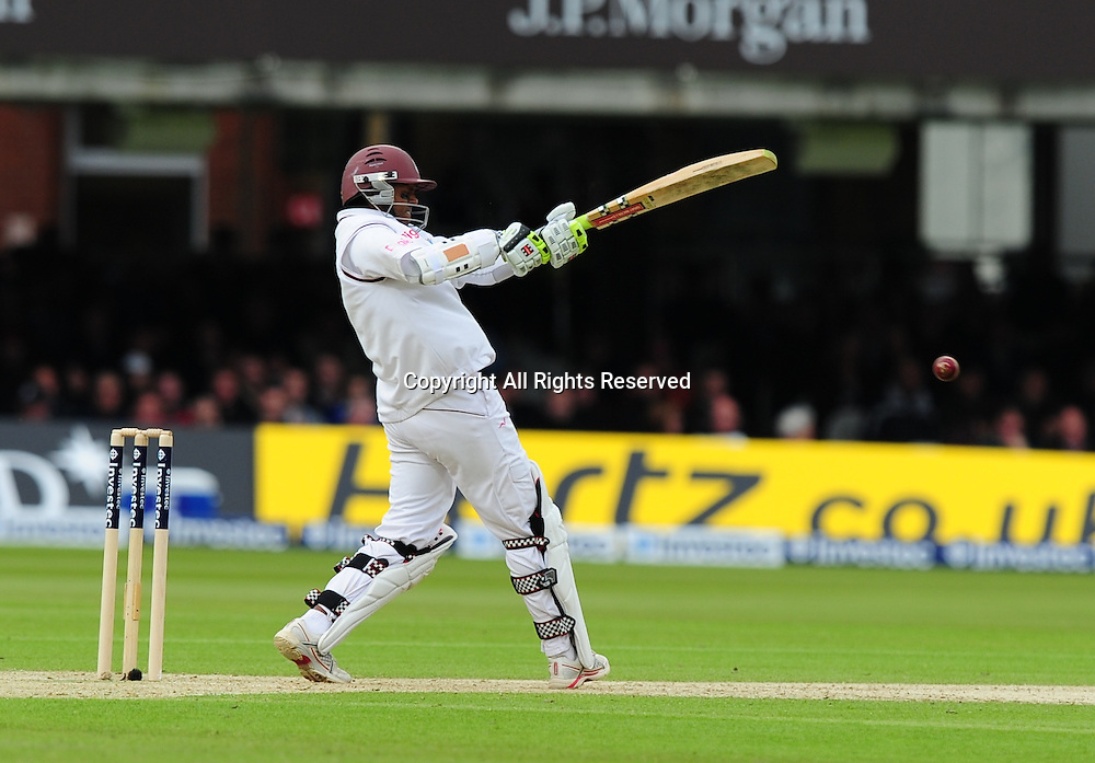 17.05.2012 London, England.  Shivnarine Chanderpaul in action during the First Test between England and West Indies from Lords.