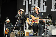 The German country rock band The Boss Hoss at Open Flair Festival 2011 in Eschwege. Photo by Ruediger Knuth