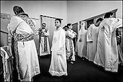 A Coptic Church mass at St Mark's church in Beachaven, Auckland.