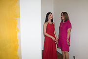 ZUZANA DOBROVOLNA; VICTORIA LONG, Albert Irvin: Painting the Human Spirit - private view<br /> Exhibition dedicated to the memory of Albert Irvin who passed away in March 2015. Private view held on anniversary of Irvin's birthday .Gimpel Fils Gallery, 30 Davies Street, London, 21 August 2015.