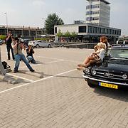 NLD/Amsterdam/20070610 - Presentatie Playboy's Playmates Collectors Special Edition, auto van Frans van Zoest, Spike word gebruikt voor ee fotoshoot