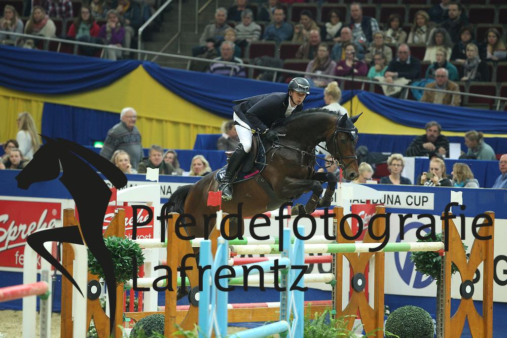 Haßmann, Felix (GER), Horse Gym´s Quali Quanti<br /> Dortmund - Signal Iduna Cup 2016<br /> Grosser Preis der Bundesrepublik<br /> © www.sportfotos-lafrentz.de / Stefan Lafrentz