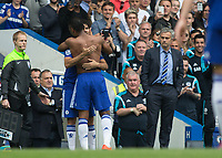 Football - 2014 / 2015 Premier League - Chelsea vs. Sunderland.   <br /> <br /> <br /> <br /> COLORSPORT/DANIEL BEARHAM
