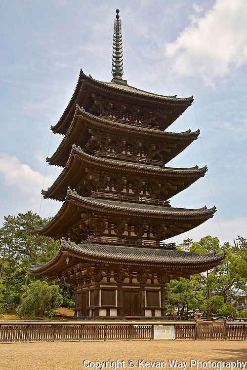 Tō-ji Buddhist Temple Kyoto Japan