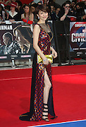 April 26, 2016 - Ryoko Yonekura attending 'Captain America: Civil War' European Film Premiere at Vue Westfield in London, UK.<br /> ©Exclusivepix Media