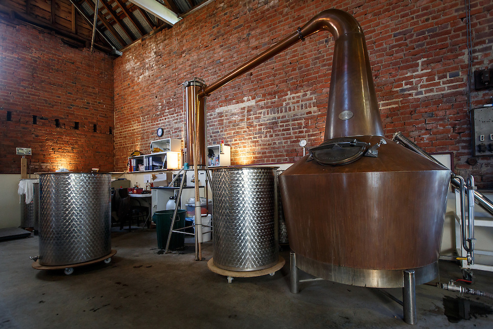 The still at Redlands Estate Distillery in Plenty, Tasmania, August 25, 2015. Gary He/DRAMBOX MEDIA LIBRARY
