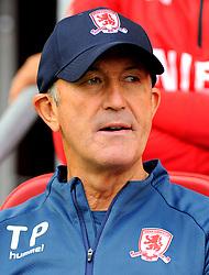 Middlesbrough manager Tony Pulis looks on- Mandatory by-line: Nizaam Jones/JMP- 18/08/2018 - FOOTBALL - Ashton Gate Stadium - Bristol, England - Bristol City v Middlesbrough - Sky Bet Championship