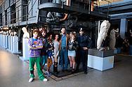 Roma 29 Marzo 2011.Centrale Montemartini.Presentato Flashdance il Musical, lo spettacolo tratto dal film culto degli anni  80..Il cast