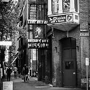 MIssion near Pioneer Square - Seattle, WA