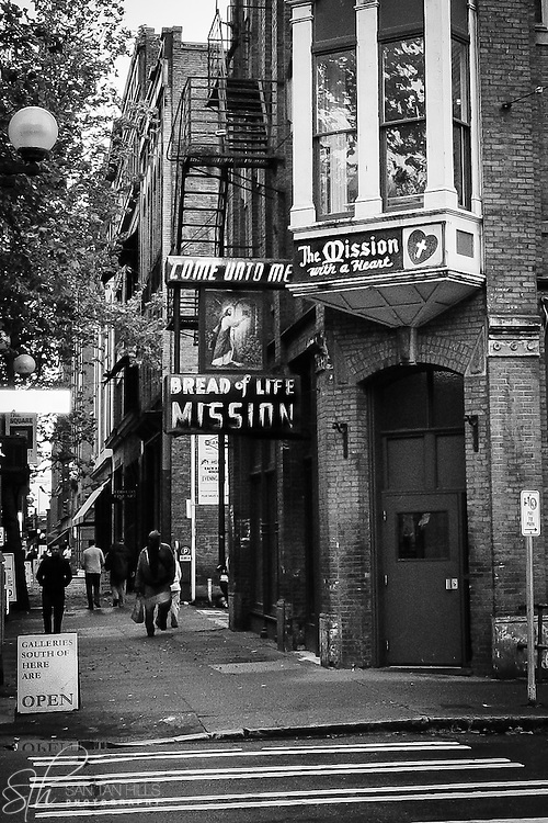 MIssion near Pioneer Square - Seattle, WA