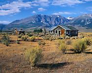 An Abandoned Homestead On The Eastern Flank Of The Sierra Nevada Mountain Range In California, USA